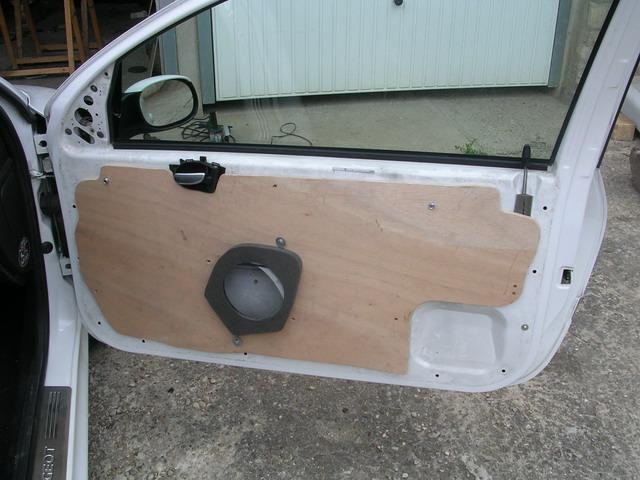 La sonorisation automobile bafflage des portes d 39 une 206 for Ou acheter porte interieur